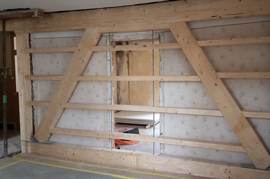 renforcer un plancher bois comment rnover un plancher ancien with renforcer un plancher bois. Black Bedroom Furniture Sets. Home Design Ideas
